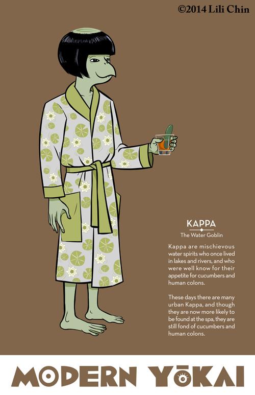 ModernYokai-Kappa